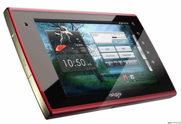 aigo n700 Aigos 7 inch N700 tablet running Android 2.1