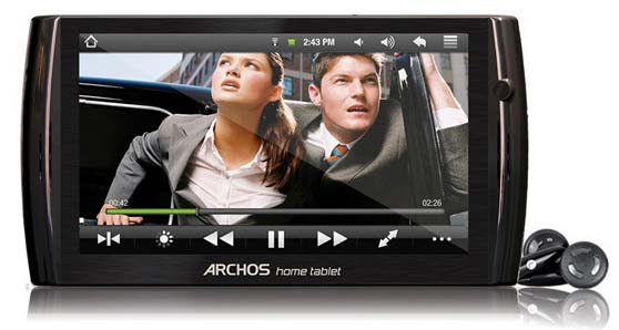 archos7ht Release of the brand new Archos 7 HT android tablet