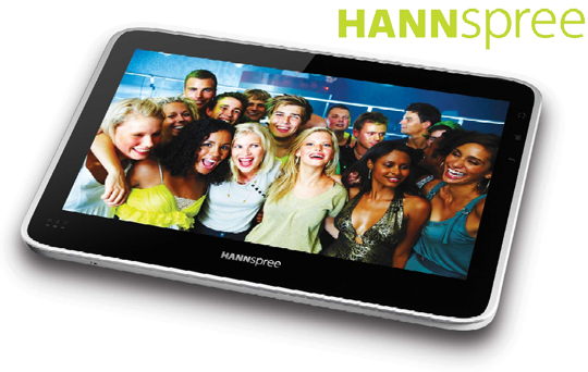 hannspree tablet Hannspree tablet will feature Android 2.2 and Tegra 2 processor