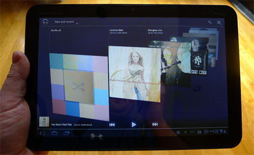xoom music Motorola Xoom Review   Everything Android