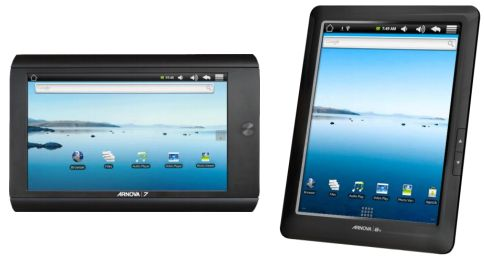 arnova Archos Arnova line of product is an affordable Android tablet
